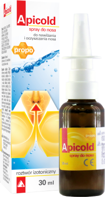 Apicold propo spray do nosa z propolisem 30 ml
