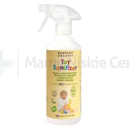 BENTLEY ORGANIC Spray antybakteryjny do zabawek 500ml