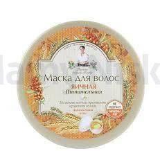 Babuszka Agafia Jajeczna maska do włosów 300 ml