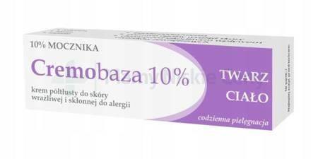Cremobaza 10% krem półtłusty 30g