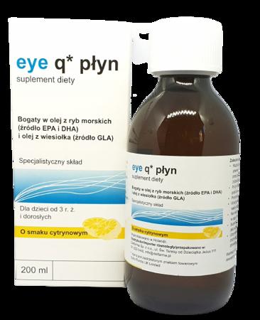 Eye Q Płyn smak cytrynowy 200ml DELFARMA