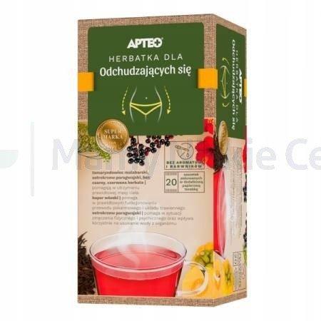 Herbatka dla odchudzajacych się APTEO 20 saszetek