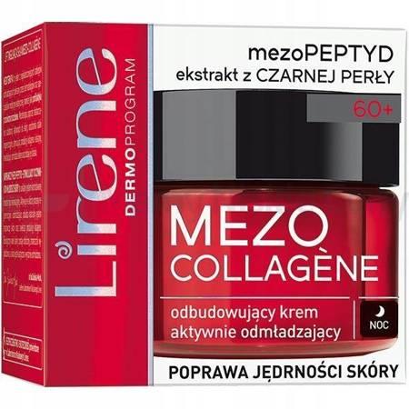 LIRENE Mezo Collagene 60+ krem na noc 50 ml