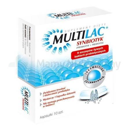 Multilac 10 kapsułek