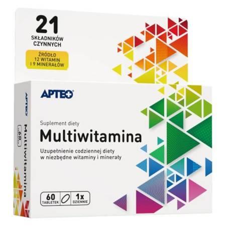 Multiwitamina APTEO 60 tabletek