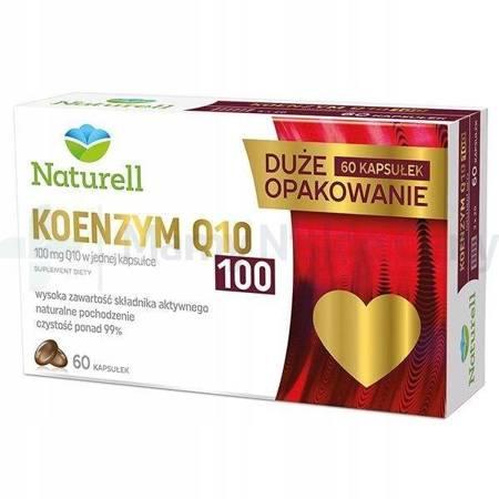 Naturell Koenzym Q10 100 mg 60 kapsułek