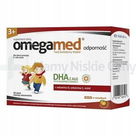 Omegamed Odporność 3+ 30 saszetek