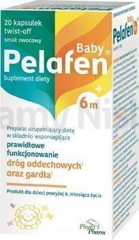 Pelafen Baby 6m+ 20 kapsułek twist-off