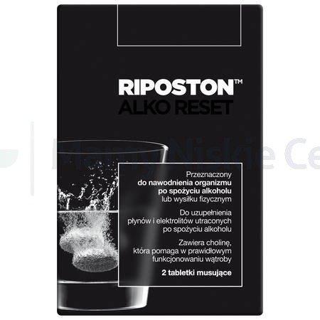 Riposton 2 tabletki musujące