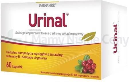 Urinal 60 kapsułek